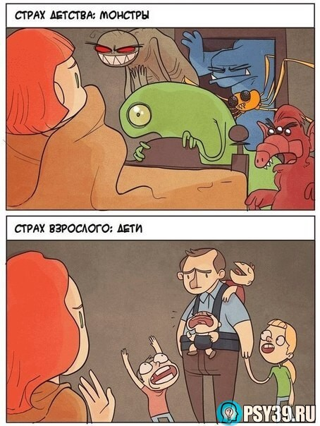 Страх детства и страх взрослого